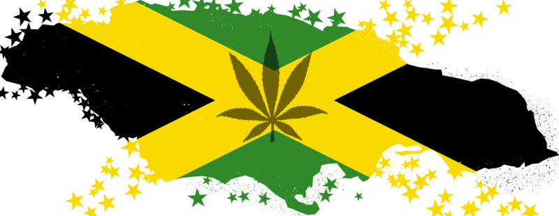 Marijuana_and_Flag_Map_of_Jamaica